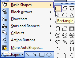 PowerPoint 2003 AutoShapes