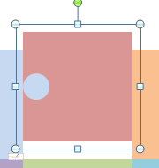 Grouped square and circle