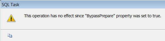 BypassPrepare property message