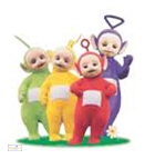Collection of teletubbies