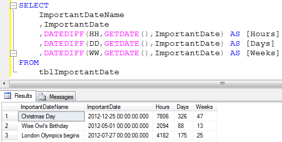 ... Access Tips: Calculating Date Difference: Using the DateDiff Function