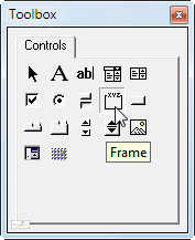 The Frame tool