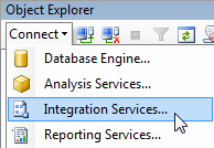 Connect to SSIS Server