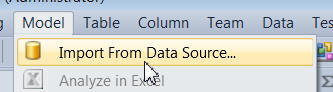 Importing data source