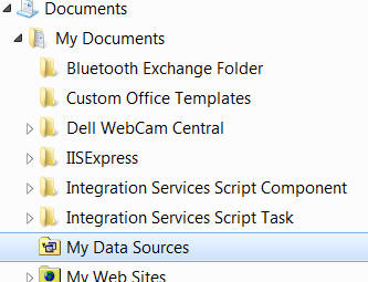 My data sources