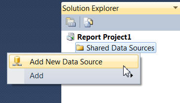 Creating a data source
