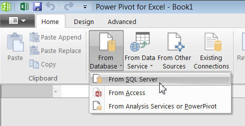 From SQL Server