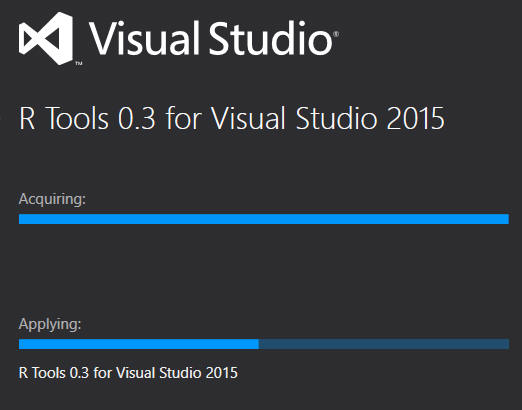 R in Visual Studio