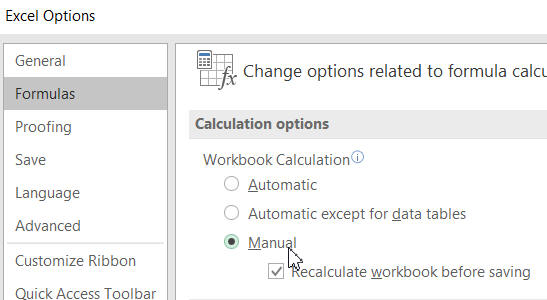 Getting Excel to speak cell values on calculate