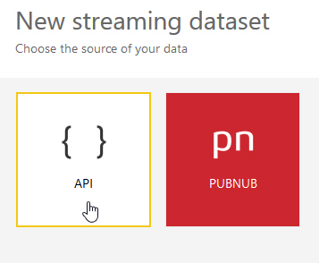 Choose API or PubNub