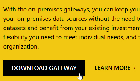 Download gateway button