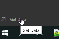 Get data icon