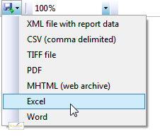 Word and Excel reports