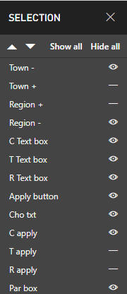Power BI Desktop Bookmarks Selection Pane