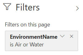 Air or water filter