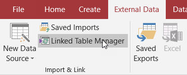 The linked table manager