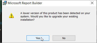 Upgrading Report Builder