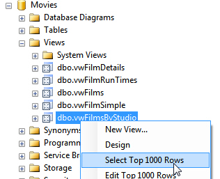Selecting top 1000 rows