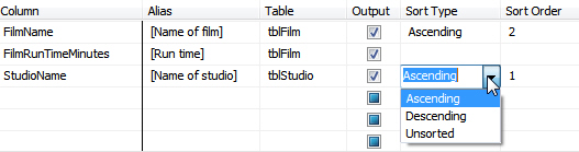 Sorting by two columns
