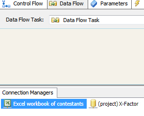 The Excel connection manager