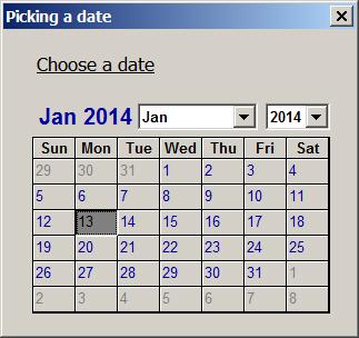 calendar for excel 2010