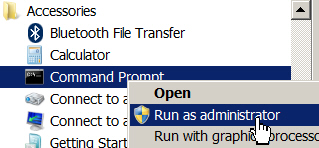 Running command prompt
