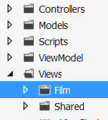 The new view folder