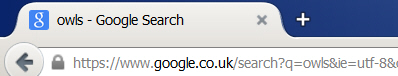 Google search string
