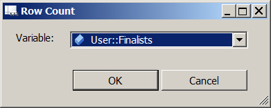 SSIS 2012 Row Count task