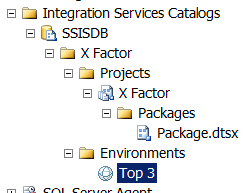 Environments in SSIS