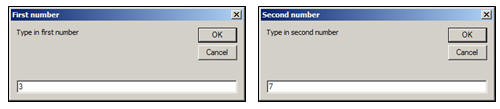 Access VBA Macros exercise - Messages and variables (image 1)
