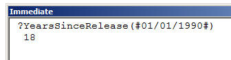 Access VBA Macros exercise - Creating functions (image 2)