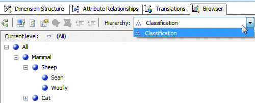SSAS Analysis Services exercise - Hierarchies and Relationships (image 1)