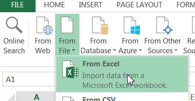 Power Query from Excel