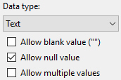 Null value