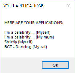 BGT application