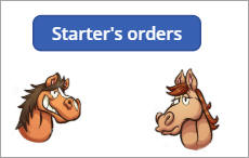 Starter's orders button