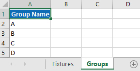 Deleted group sheets
